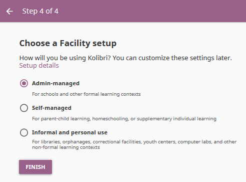 Install Kolibri — Kolibri 0 7 x documentation